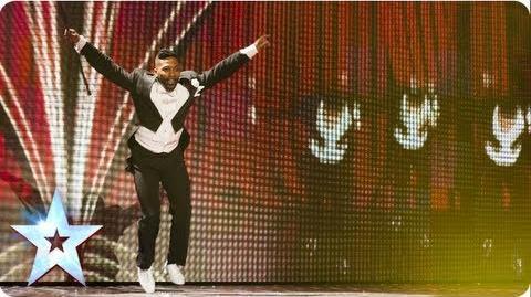 Joseph Hall has got all the moves Semi-Final 3 Britain's Got Talent 2013