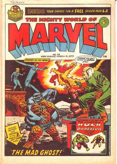 Mighty World of Marvel Vol 1 26