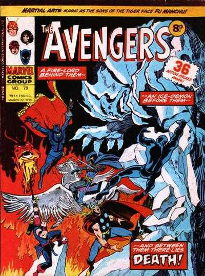 Avengers (Marvel UK) Vol 1 79