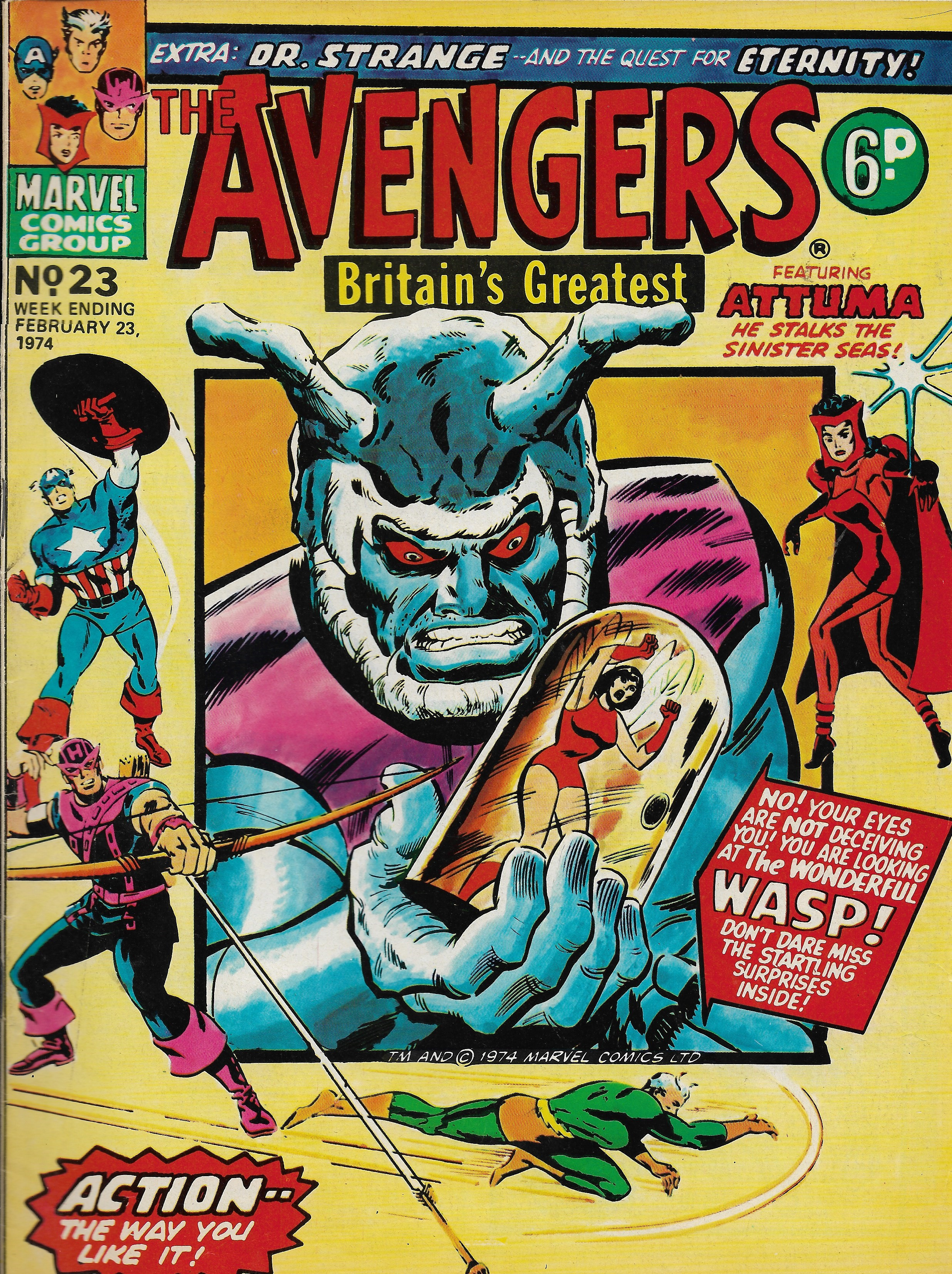 Avengers (Marvel UK) Vol 1 23
