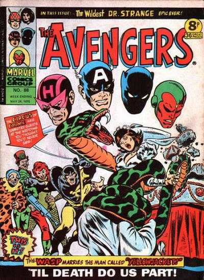 Avengers (Marvel UK) Vol 1 88