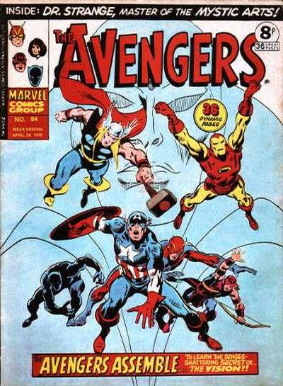 Avengers (Marvel UK) Vol 1 84
