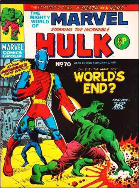 Mighty World of Marvel Vol 1 70