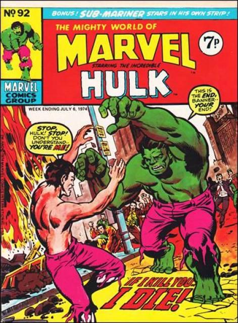 Mighty World of Marvel Vol 1 92