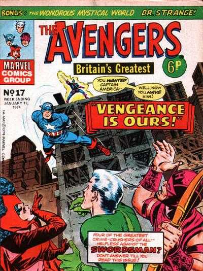 Avengers (Marvel UK) Vol 1 17