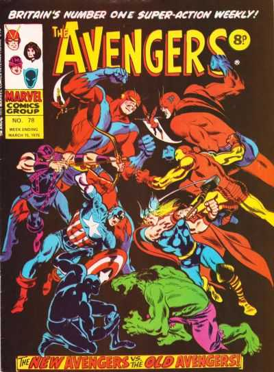 Avengers (Marvel UK) Vol 1 78