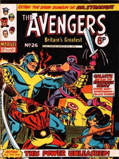Avengers (Marvel UK) Vol 1 26