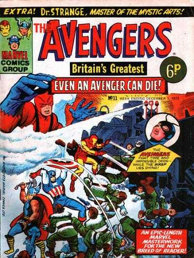 Avengers (Marvel UK) Vol 1 11