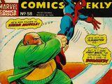 Spider-Man Comics Weekly Vol 1 58