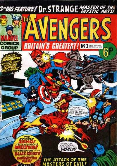 Avengers (Marvel UK) Vol 1 3