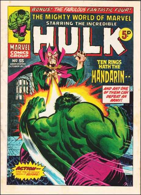 Mighty World of Marvel Vol 1 55