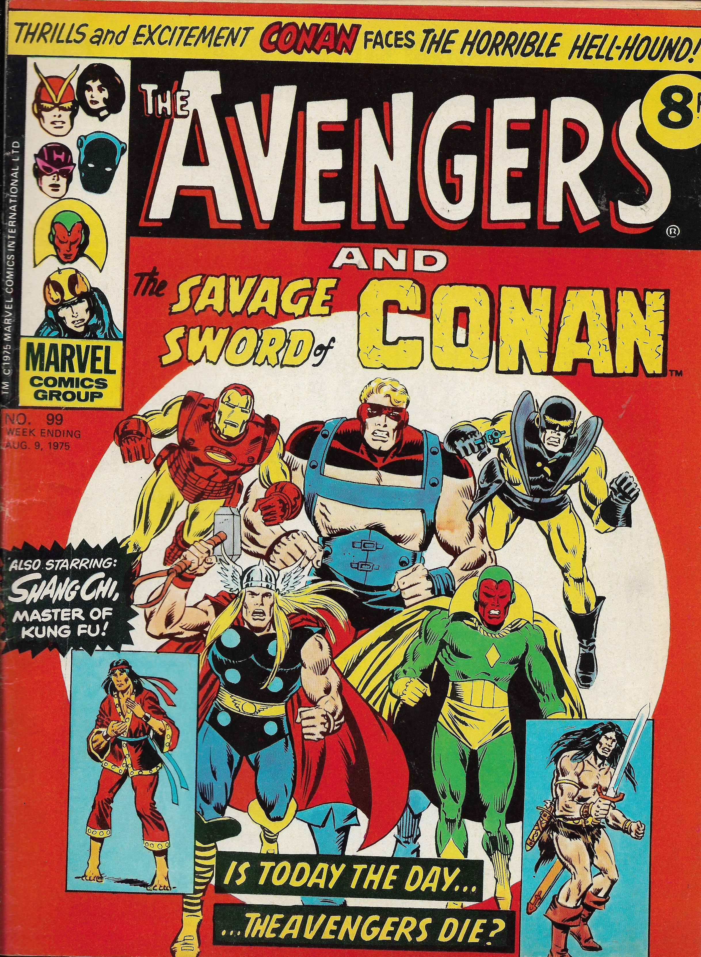 Avengers (Marvel UK) Vol 1 99
