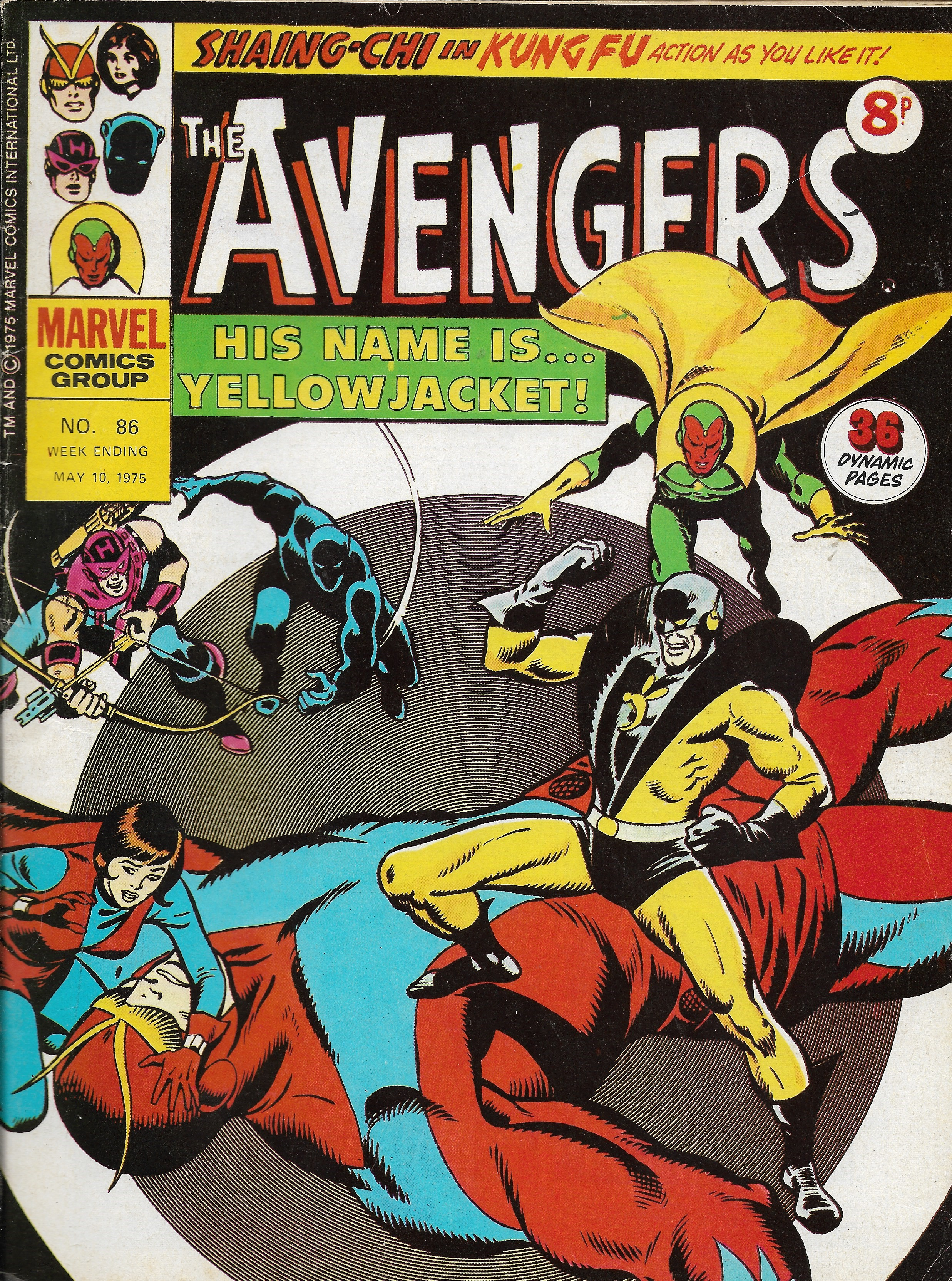 Avengers (Marvel UK) Vol 1 86