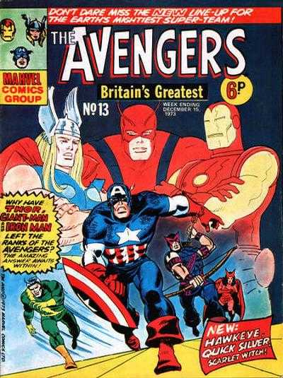 Avengers (Marvel UK) Vol 1 13