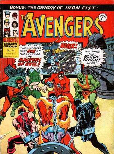 Avengers (Marvel UK) Vol 1 74