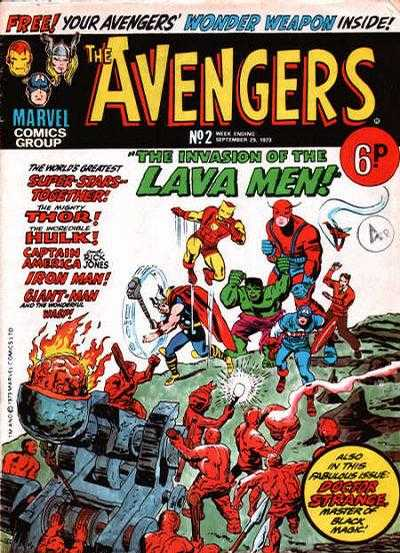 Avengers (Marvel UK) Vol 1 2