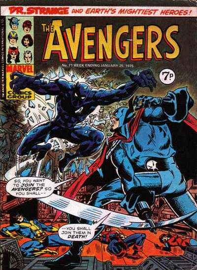 Avengers (Marvel UK) Vol 1 71