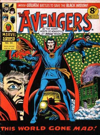 Avengers (Marvel UK) Vol 1 93