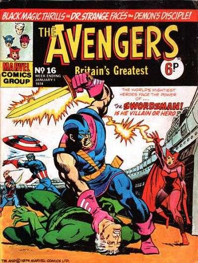 Avengers (Marvel UK) Vol 1 16