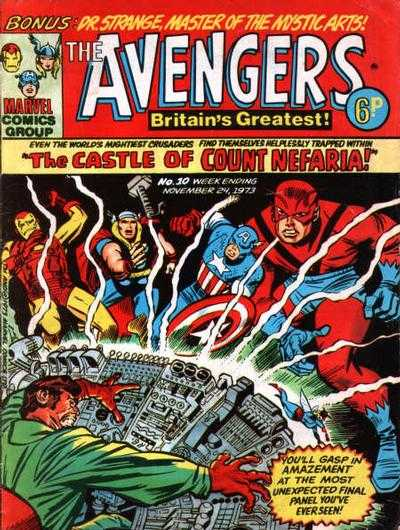 Avengers (Marvel UK) Vol 1 10
