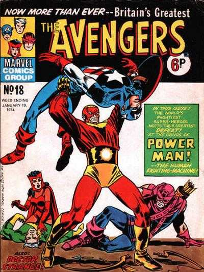 Avengers (Marvel UK) Vol 1 18