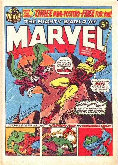 Mighty World of Marvel Vol 1 25