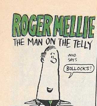 Roger Mellie, the Man on the Telly
