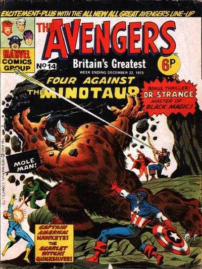 Avengers (Marvel UK) Vol 1 14