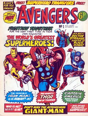 Avengers (Marvel UK) Vol 1 1