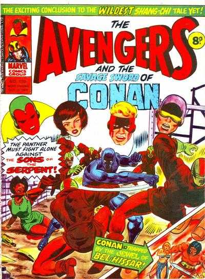 Avengers (Marvel UK) Vol 1 110