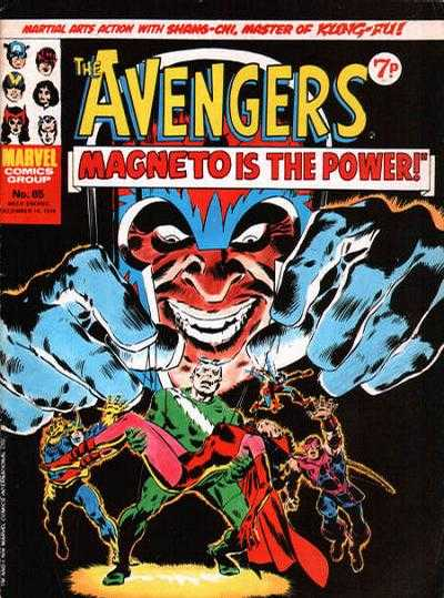 Avengers (Marvel UK) Vol 1 65