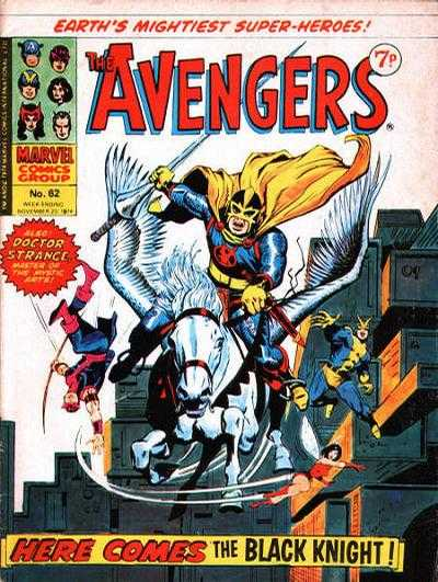 Avengers (Marvel UK) Vol 1 62