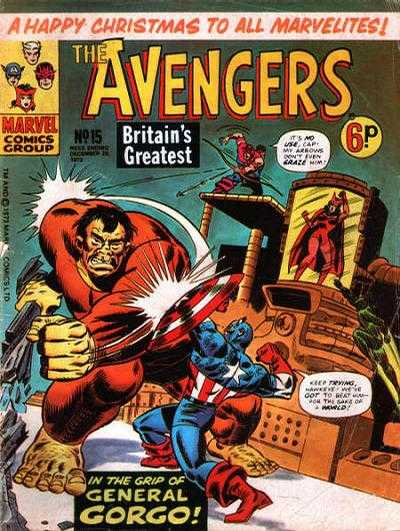 Avengers (Marvel UK) Vol 1 15