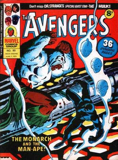 Avengers (Marvel UK) Vol 1 90
