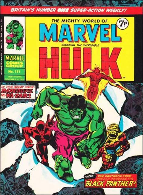 Mighty World of Marvel Vol 1 111