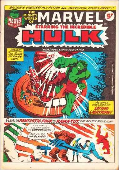Mighty World of Marvel Vol 1 41