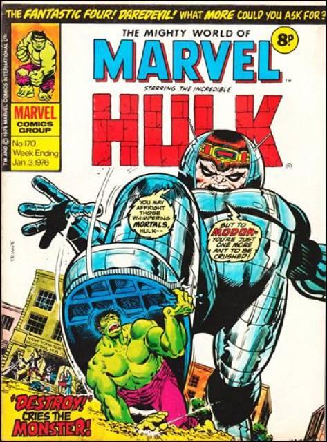 Mighty World of Marvel Vol 1 170