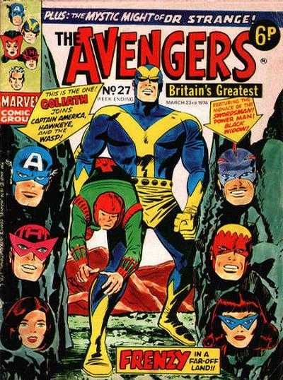 Avengers (Marvel UK) Vol 1 27
