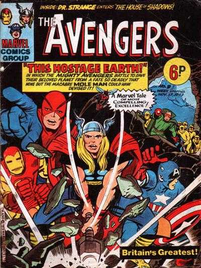 Avengers (Marvel UK) Vol 1 9