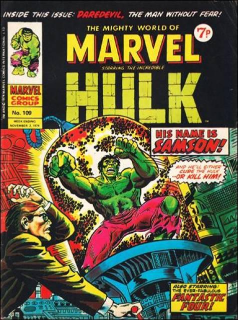Mighty World of Marvel Vol 1 109