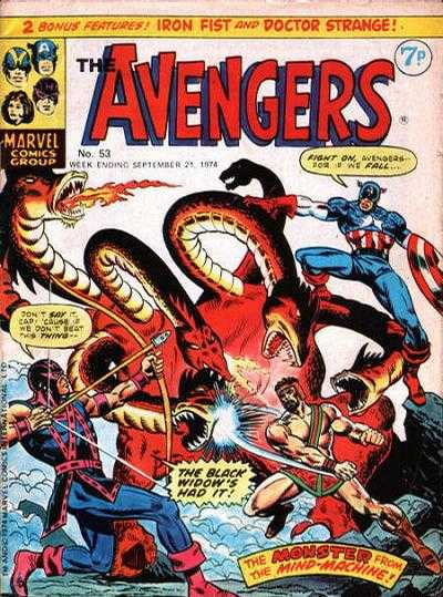 Avengers (Marvel UK) Vol 1 53