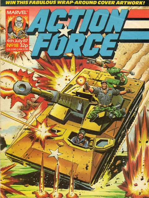 Action Force (Marvel UK) Vol 1 18