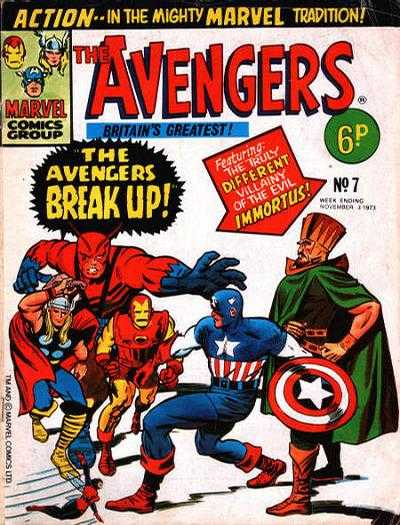 Avengers (Marvel UK) Vol 1 7