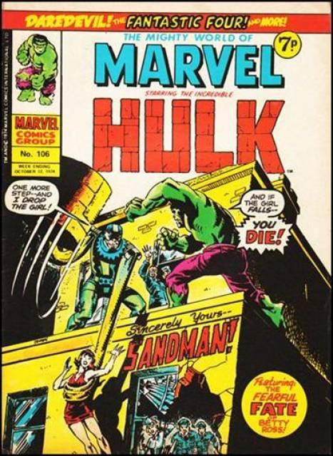 Mighty World of Marvel Vol 1 106