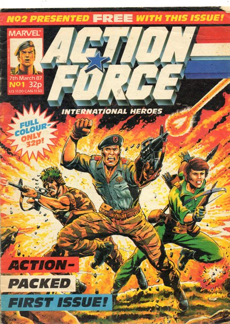 Action Force (Marvel UK) Vol 1 1