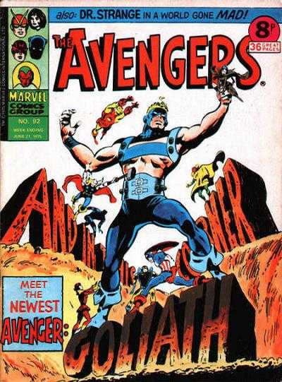 Avengers (Marvel UK) Vol 1 92