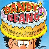 Part 3 Of 4 C1490 Dandy Beano #78 Panini 1988 Sticker