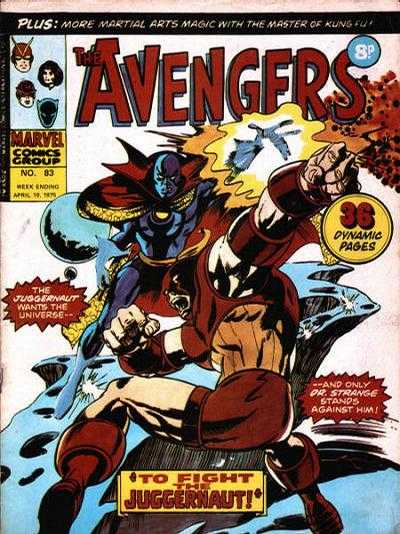 Avengers (Marvel UK) Vol 1 83