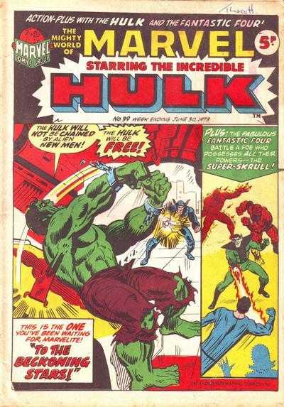 Mighty World of Marvel Vol 1 39