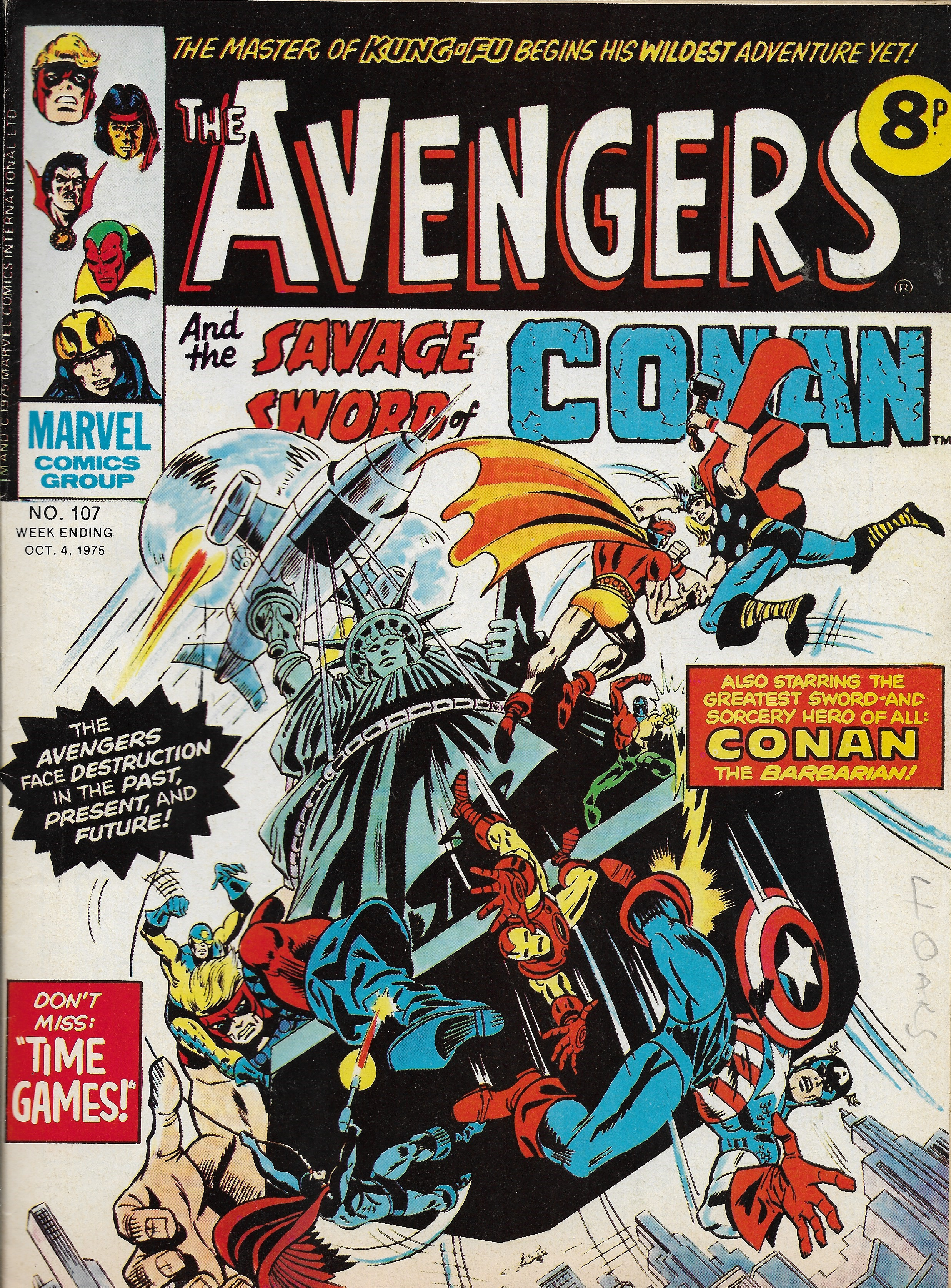 Avengers (Marvel UK) Vol 1 107